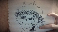 Humanstuck Kankri Vantas with a Flowercrown